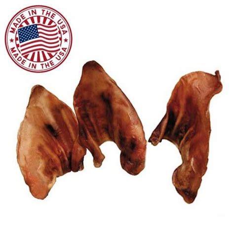pig ears for dogs pig ears for dogs 10 pack bulk pork dental import it all