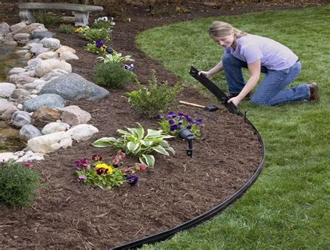 Brick and metal landscape edging lowes home design ideas best metal landscape edging lowes