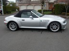 sell used 2000 bmw z3 2 8 roadster titanium silver in