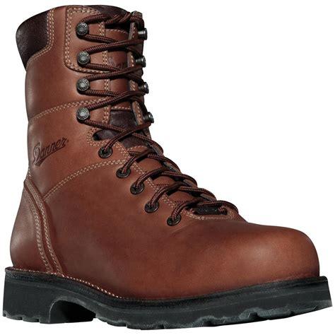 danner work boots danner 174 workman gtx 174 8 quot plain toe work boots 212969