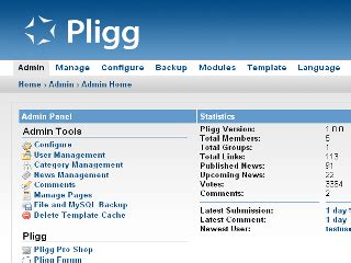 site pligg pligg for amahi