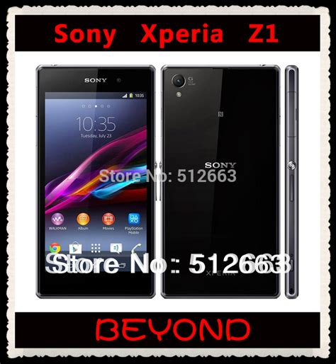 Android Sony Ram 2gb sony xperia z1 original unlocked gsm 3g 4g android