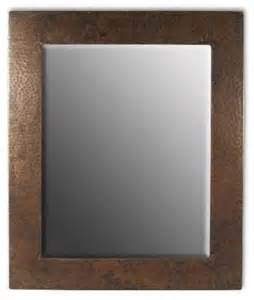 cabin bathroom mirrors native trails small sedona rectangle mirror rustic bathroom mirrors by directsinks