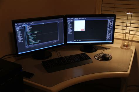 Programmer Desk Setup Bettercoder The Desk Setup Tour