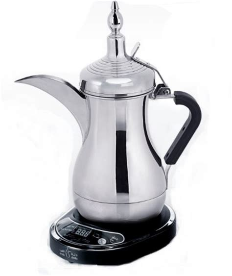 Electric Arabic Coffee Maker , Auto Dalla   KAVA NOIR