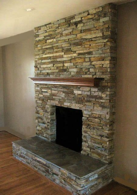 stacked stone fireplace pictures 134 best images about indoor fireplace ideas on pinterest