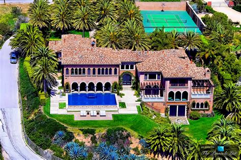 mansions in malibu cher s italian renaissance style mansion overlooking the