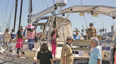 san pedro boat show southern california in water boat show returns to san