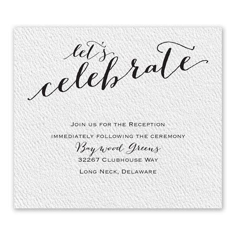 Wedding Invitation Information Card by Playful Pair Information Card Invitations By