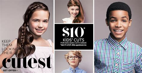 haircut deals for back to school back to school hair cut deals