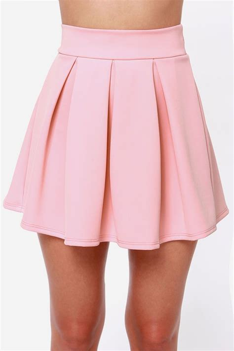 light pink pleated skirt 301 moved permanently