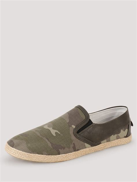 camo loafers buy zobello espadrille loafers with camo print for