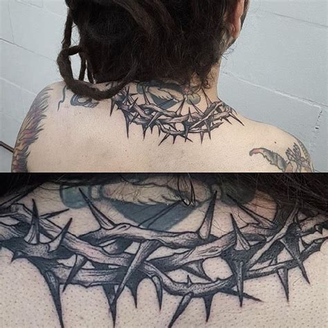 rose thorn bush tattoos best 25 ideas on
