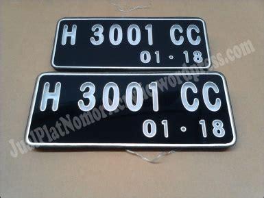 Pembuatan Plat Nomor Acrylic plat nomor polisi acrylic mobil yaris 0856 4355 2499