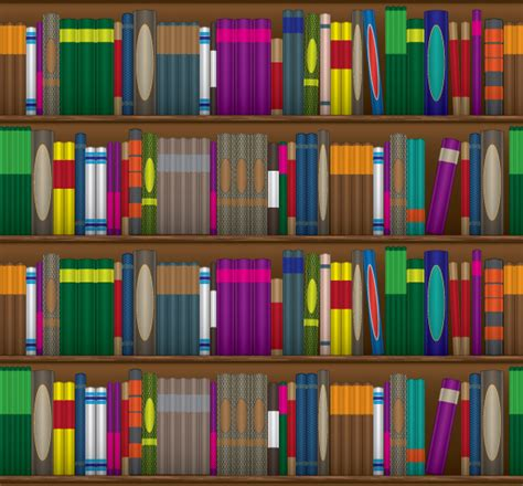 how to create a seamless bookshelf pattern in illustrator