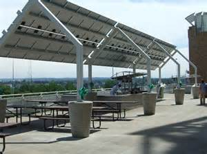 Canopy Solar by Cleveland Indians Solar Canopy