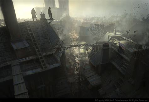 assassin s creed unity s concept art won t get any complaints from us vg247 gilles beloeil concept art world