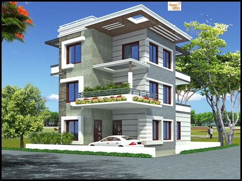 floor house 5 bedroom modern 3 floor house design area 192 sq mts