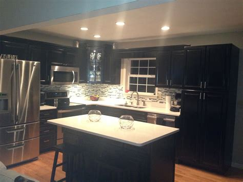 painting kitchen cabinets black painting kitchen cabinets by yourself designwalls com