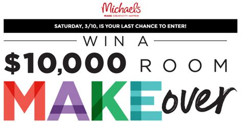 Room Makeover Sweepstakes - michaels room makeover sweepstakes 2018