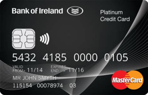 credit cards bank of ireland