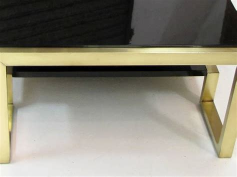 table basse laiton vintage ezooq