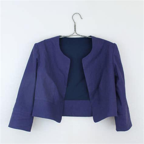 pattern making of jacket diy cropped jacket sew diy