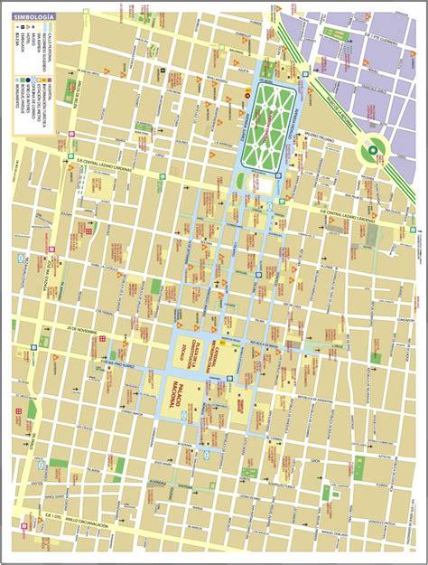 Mapa De Mexico Df. Calles