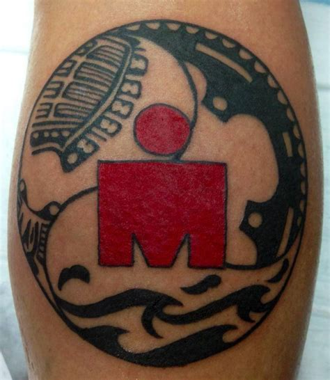 ironman tattoo designs pin by april burklow on triathlon stuff