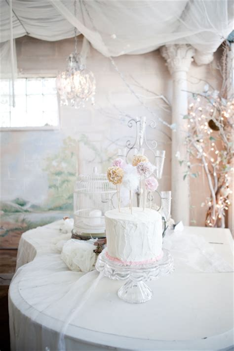 shabby chic baby shower project nursery