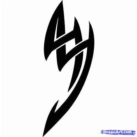 simple tattoo tribal 13 awesome cool tribal tattoos to draw images tribal