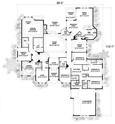 5 bedroom mediterranean house plans 17 best images about dream house plans on pinterest luxury house plans craftsman
