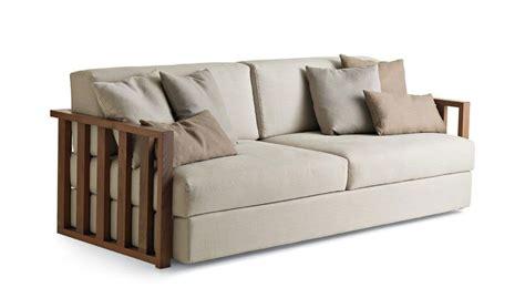 divanetti design divano 2 posti in legno massello sfoderabile per