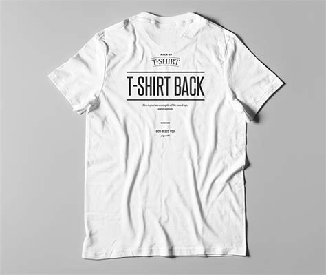 15 Download White T Shirt Mockup Templates Best For Designers T Shirt Mockup Template Free
