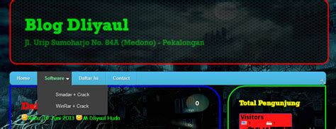 script css untuk membuat menu dropdown membuat menu web dropdown animasi css 3 blog dliyaul
