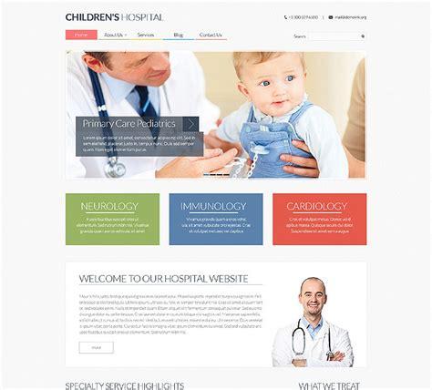 Pediatrician Responsive Website Template 48646 Pediatrician Website Template