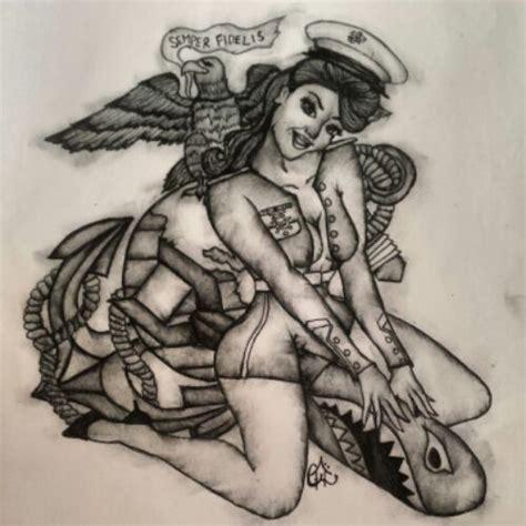 pinterest tattoo pin up military appreciation veterans day art pin up marine