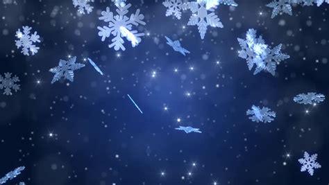 winter wonderland magic snowflakes merry stock footage video  royalty
