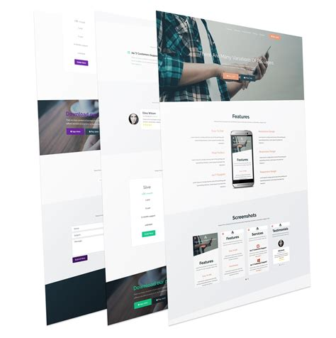 appnow creative joomla landing page template