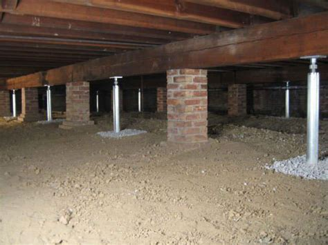 Different Methods of Crawl Space Foundation Repair in