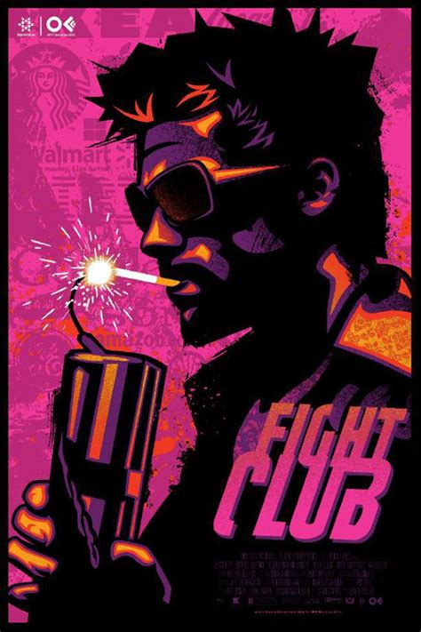 fight club a collection of the coolest alternate fight club posters