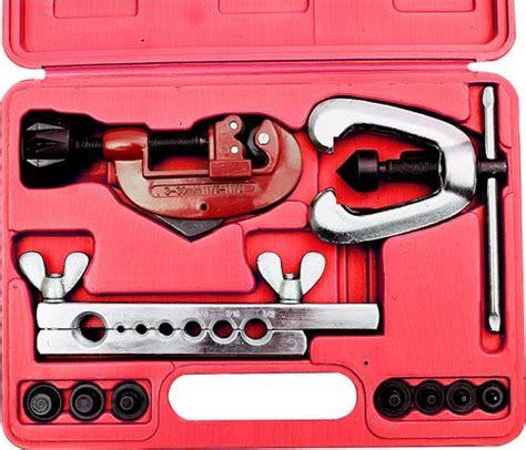 Tubing Tool Kit Set flaring tool kit with pipe cutter set 10 cromindo