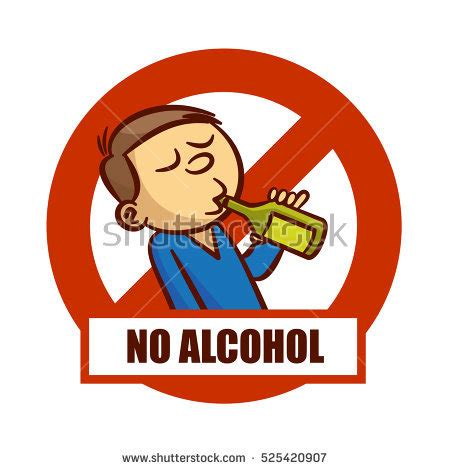 cartoon no alcohol prohibition alcohol stock images royalty free images