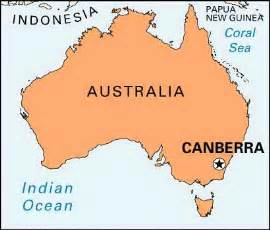 Canberra World Map by Canberra Map And Canberra Satellite Image