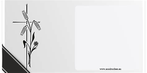 Muster Und Vorlagen Für Trauerkarten trauerkarten trauerkarten ausdrucken vorlagen