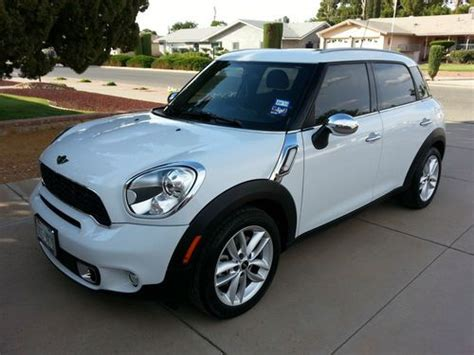 airbag deployment 2012 mini cooper countryman interior lighting find used 2012 mini cooper countryman s in el paso texas united states for us 25 499 00