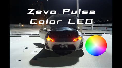 color changing led headlights installing color changing led headlights on my frs
