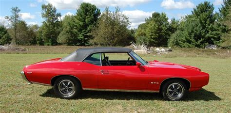 Pontiac Convertible For Sale by 1969 Pontiac Gto Convertible For Sale