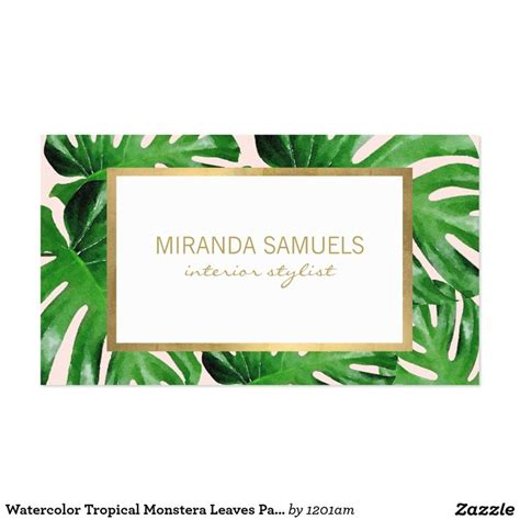 tropical cards 54 best images about business cards for fashion