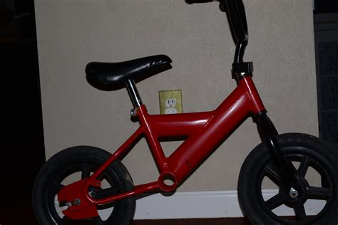 make your own strider style balance bike bring the kids